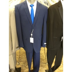 Indigo Blue 2pc Slim-fit  Suits,,