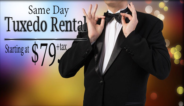 Formal Wear Rental